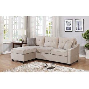 Husman Reversible Modular Sectional with Ottoman by Ebern Designs