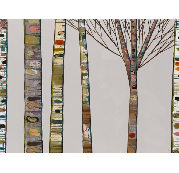 Birch Branches Wall Art Wayfair