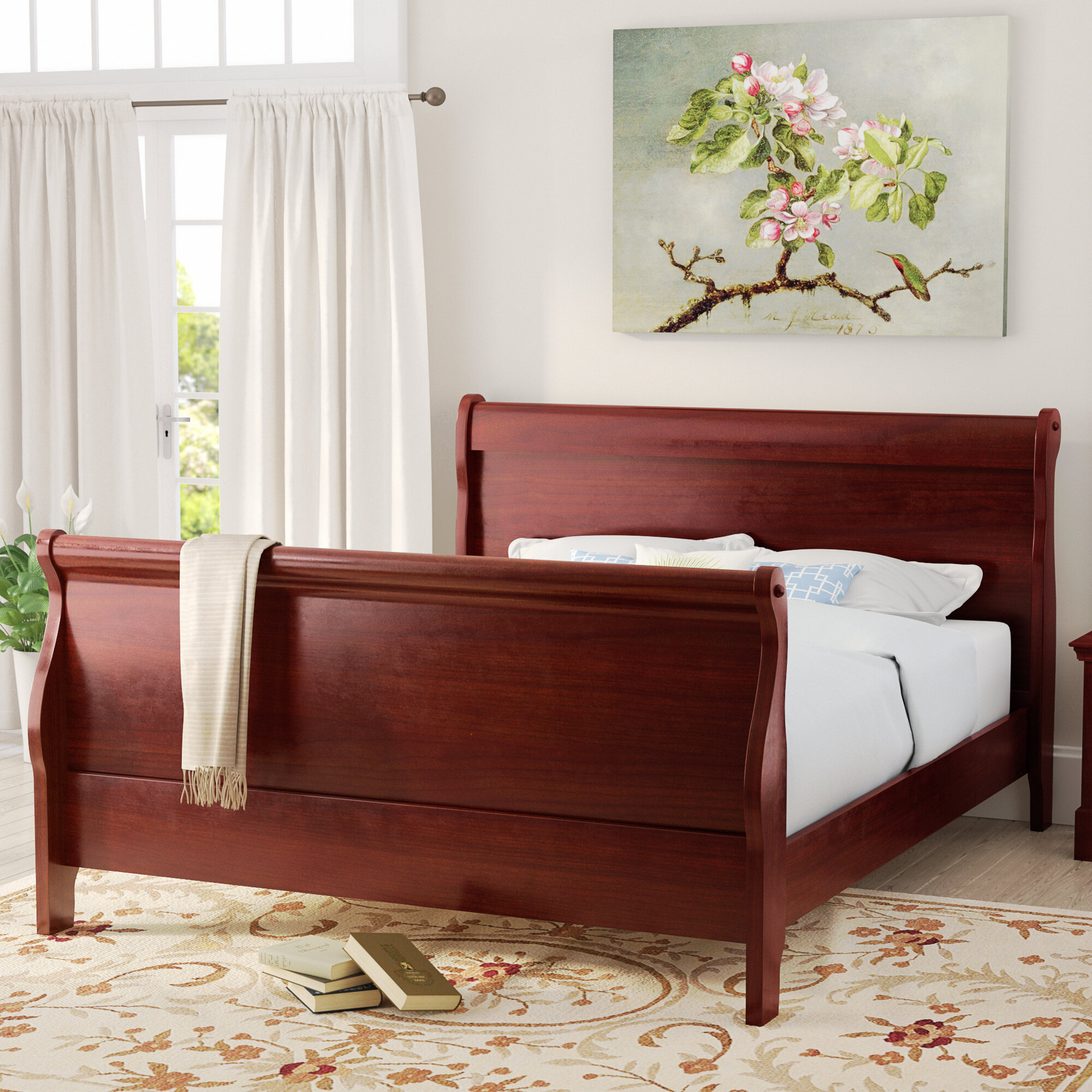 trim bed width cassimorequeen item products beds threshold ashley queen height upholstered cassimore signature by design sleigh