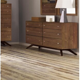 Astrid 6 Drawer Double Dresser