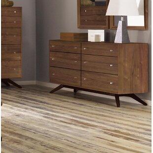 Astrid 6 Drawer Double Dresser