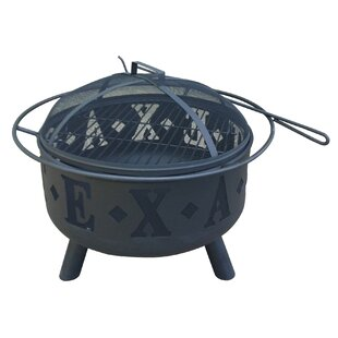 Leigh Country Texas Steel Fire Pit