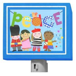 Oopsy Daisy World Peace Night Light