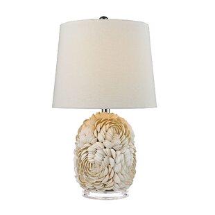Patton Natural Shell LED 23 Table Lamp