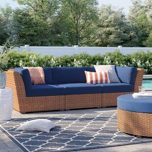 Waterbury Patio Sofa with Cushions