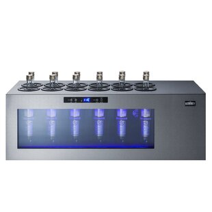 12 Bottle Open Single Zone Freestanding Wine Cooler