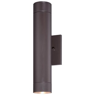Orren Ellis Moonsu Contemporary LED Outdoor Sconce