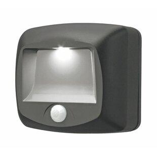 Mr. Beams Plastic Motion-Sensing 1 Light LED Stair Lights
