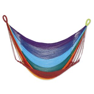 Menahga Time to Relax Cotton Rope Swing Camping Hammock