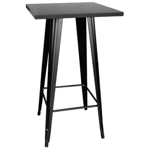 De Beque Black Pub Table by Trent Austin Design