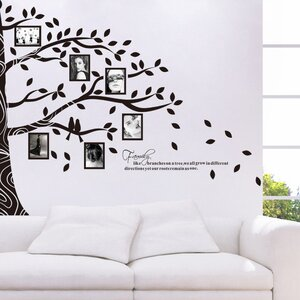 Tree Full of Frames Wall Decal