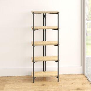 Humphrey 4 Shelf Bookcase By Mercury Row