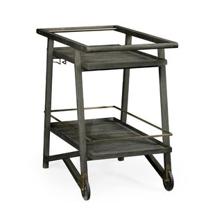 Hampton Tiered Bar Cart by Jonathan Charles Fine Furniture
