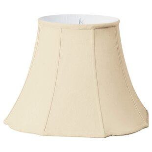 Compare Flare Bottom Scallop 18 Silk Bell Lamp Shade By Alcott Hill