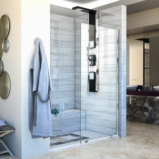 Low priced Linea 34 x 72 Frameless Fixed Glass Panel with ClearMax™ Technology ByDreamLine