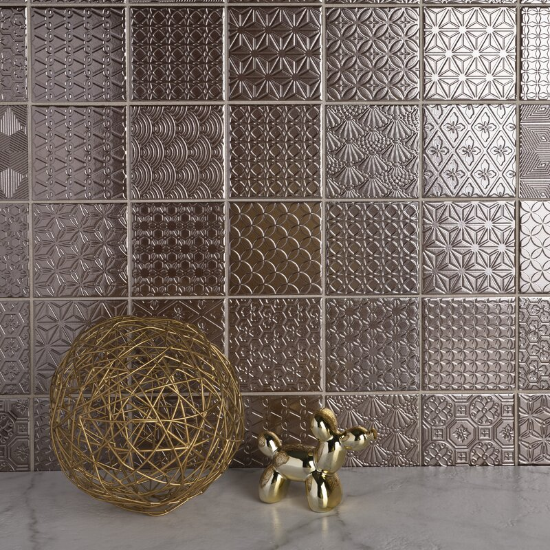 Porcelain Grid Mosaic Wall Floor Tile