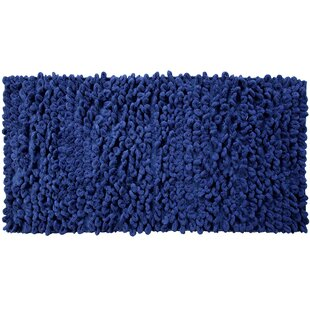 Atwell Thick Loop Cotton Chenille Bath Rug