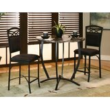 Jacob 3 Piece Counter Height Dining Set by Latitude Run®