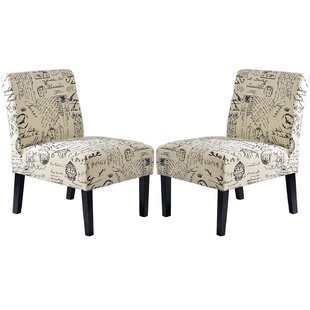 Hanley Living Room 205 Slipper Chair Set of 2