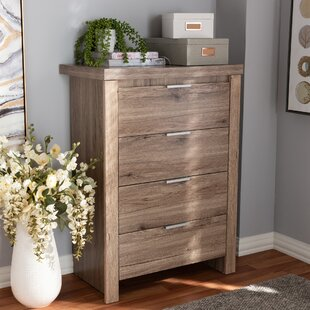 Union Rustic Tellier 4 Drawer Chest