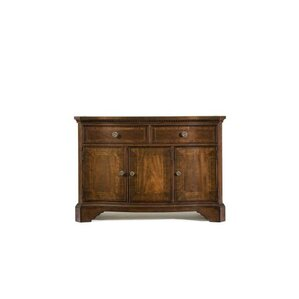 Fitzpatrick Sideboard In Distressed Rich Cordovan Mahogany