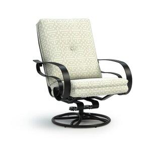 Alissa Swivel Patio Chair with Sunbrella Cushions