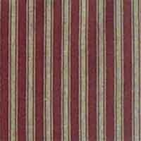 Deep Red With Tan Stripe Curtain Panels Set Of 2