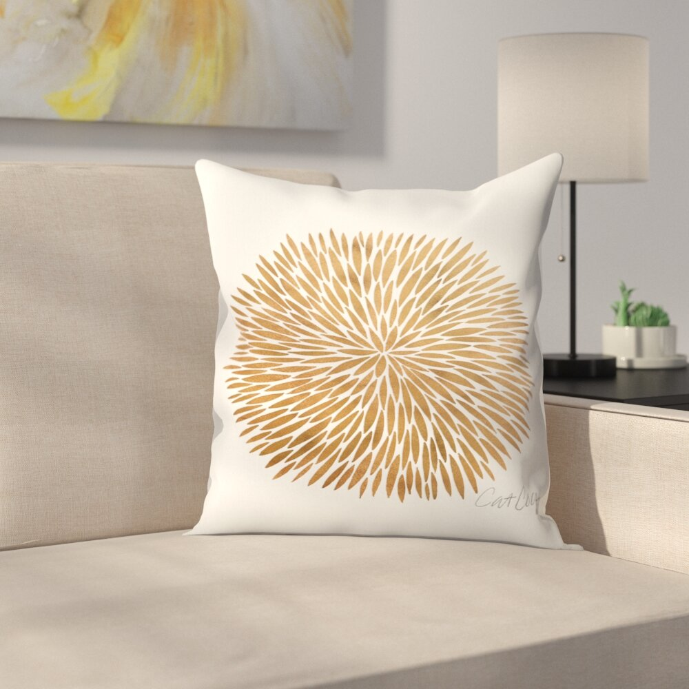 East Urban Home Burst Throw Pillow Wayfair