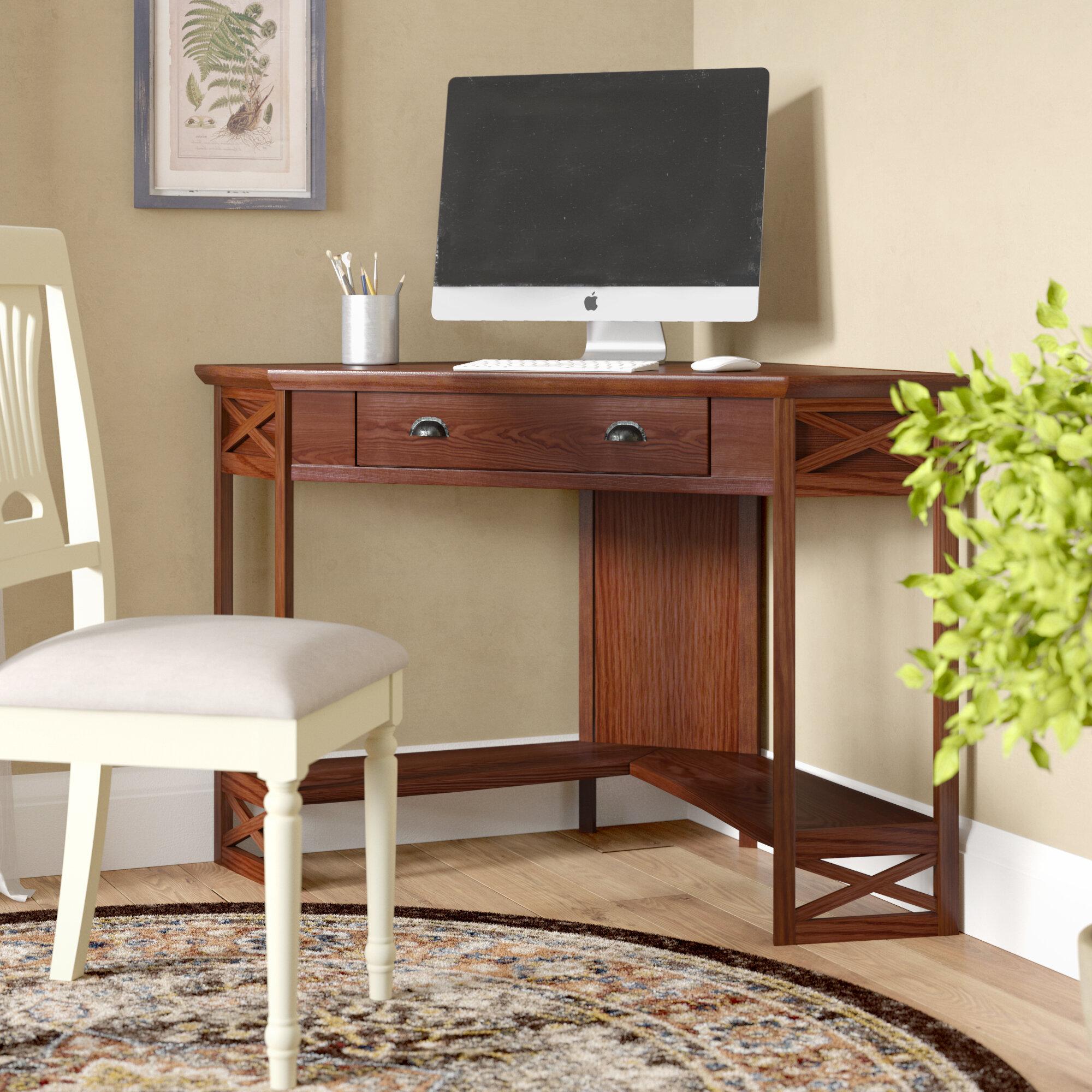 - Alcott Hill Naperville Corner Computer Desk & Reviews Wayfair
