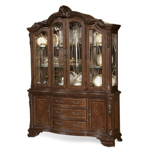 Brussels Ormside Lighted China Cabinet by..