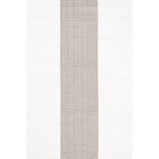 Inexpensive Lakehouse Hand Woven Grey/White Indoor/Outdoor Rug By Dash and Albert Rugs