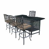 Otsego 5 Piece Aluminum Party Bar Set