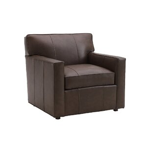 Kitano Ardsley Leather Armchair By Lexington