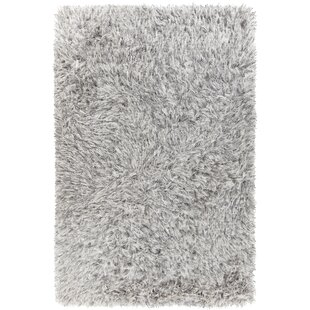 Spellman Hand-Woven White Area Rug By Loon Peak