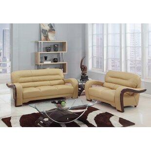 Aramis 2 Piece Living Room Set (Set of 2) by Latitude Run