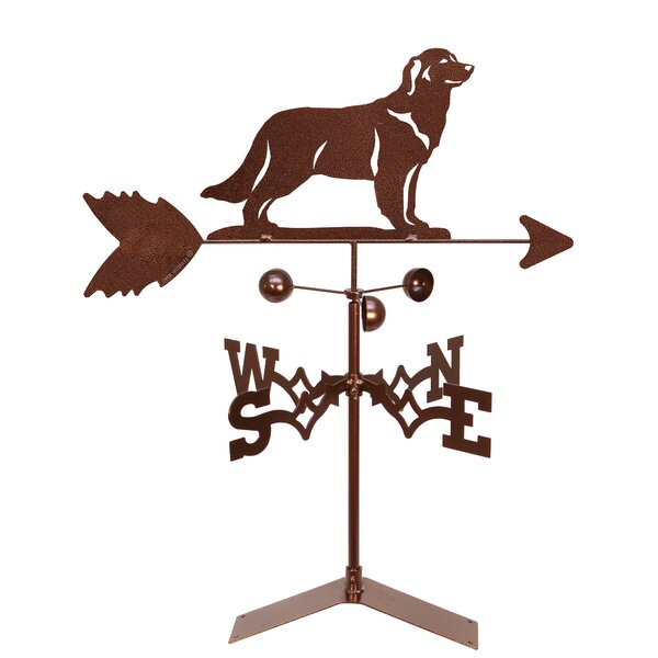 Golden Retriever Weather Vane Wayfair