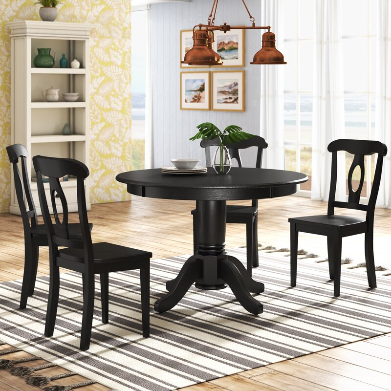 Beachcrest Home Gaskell 5 Piece Dining Set Reviews Wayfair