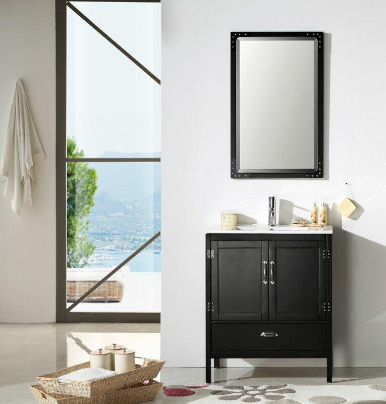"Bathroom Vanity Sets trent austin design cindi 30"" single bathroom vanity set & reviews"