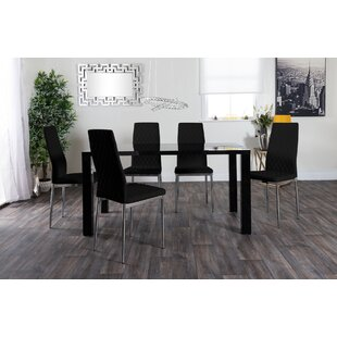 NeriahDining Set With 6 Chairs By Metro Lane
