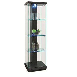 Superb Lighted Curio Cabinet