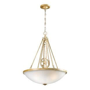 Charlton Home Dipalma 3-Light Bowl Pendant