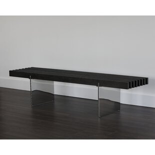 Ikon Atticus Wood Bench