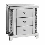 Office Home Utility 3 Drawer Nightstand by Rosdorf Park
