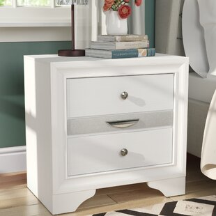 Cecelia 3 Drawer Nightstand