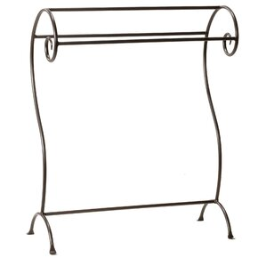 Waterbury Quilt Rack by Stone County Ironworks