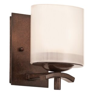 Stapleford 1-Light Bath Sconce by Kalco