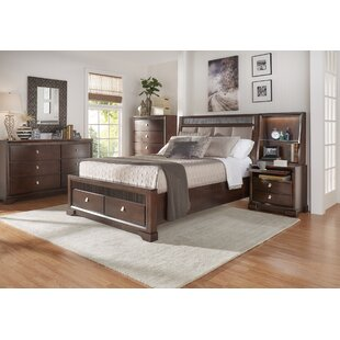 Noriega Upholstered Platform Configurable Bedroom Set