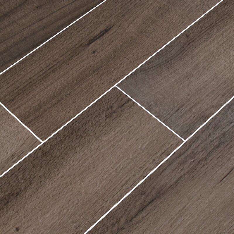 6 X 36 Porcelain Wood Look Tile