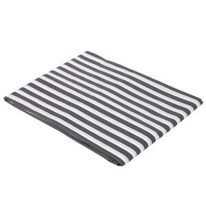 Pin Stripes Fitted Crib Sheet