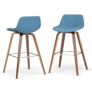 Hannon Bentwood 26.38 Bar Stool (Set of 2) by George Oliver